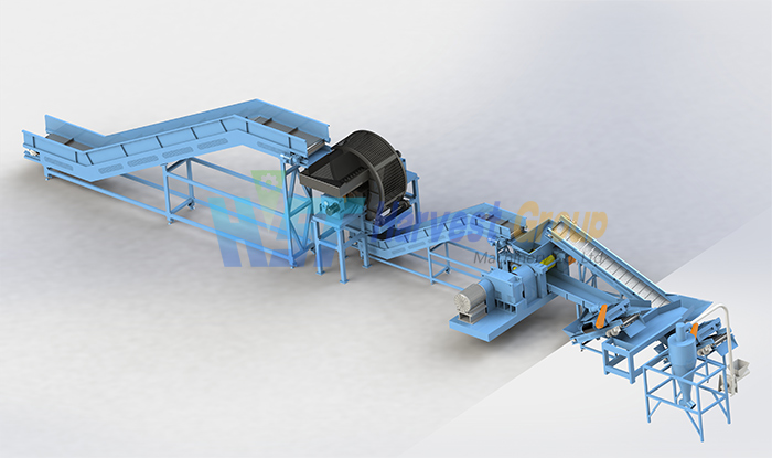 Tire recycling plant for sale Australia